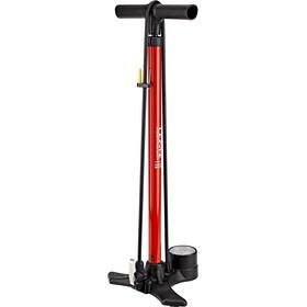 Lezyne Macro Floor Drive DV Floor Pump red